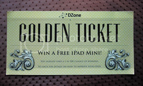 iPad Mini Golden Ticket