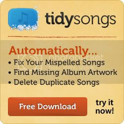 Click here to download TidySongs and fix song names in a jiffy